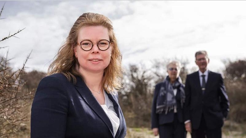 Sabine van der Eijk, uitvaartleidster